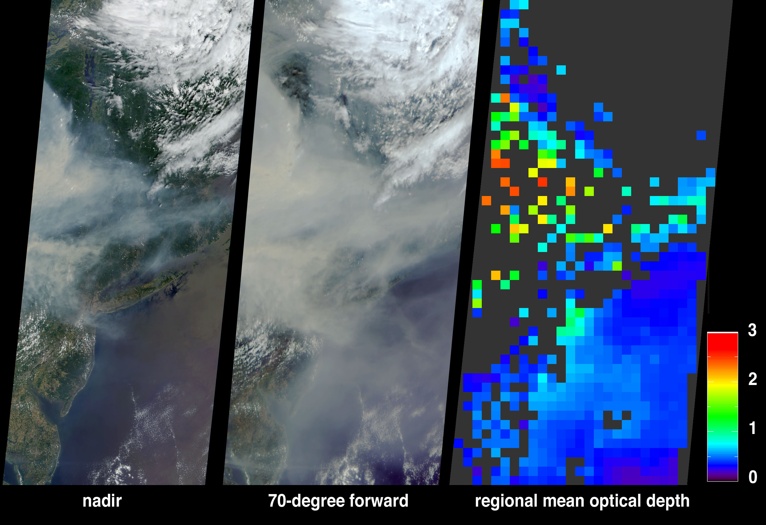 Smoke from Canadian Fires Blankets Eastern U.S. - related image preview