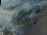 Smoke from Canadian Fires Blankets Eastern U.S. - selected image