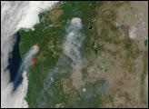 Fires Scorch Oregon