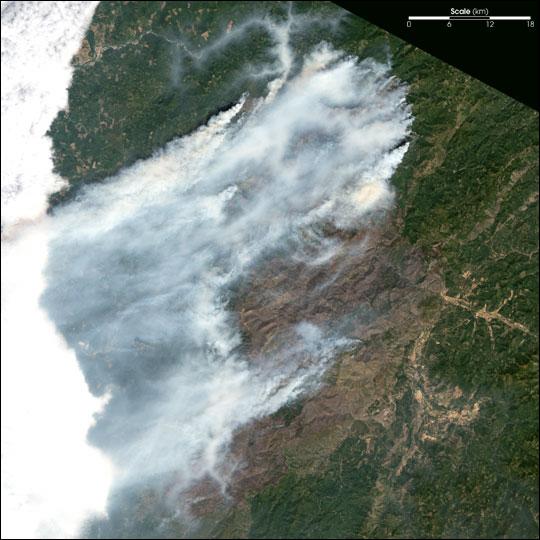 Fires Scorch Oregon