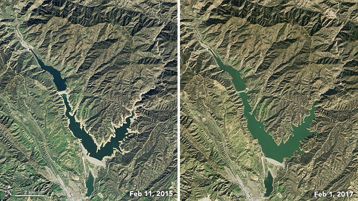 Castaic Lake -