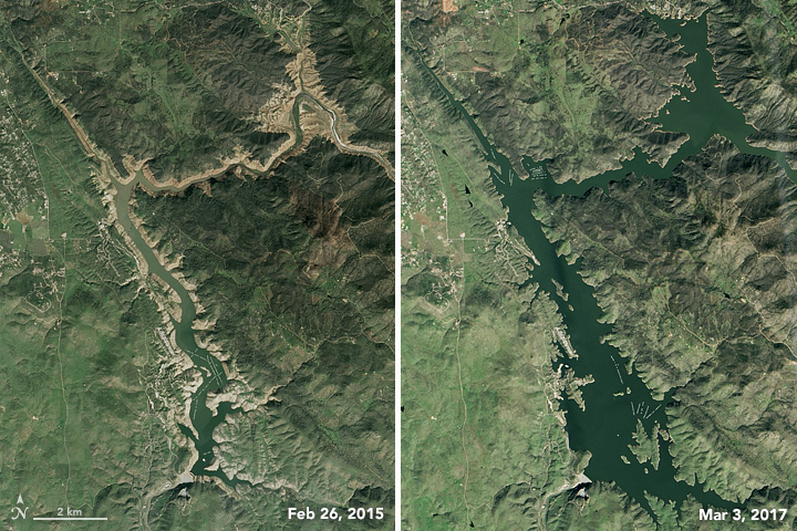 Don Pedro Reservoir -