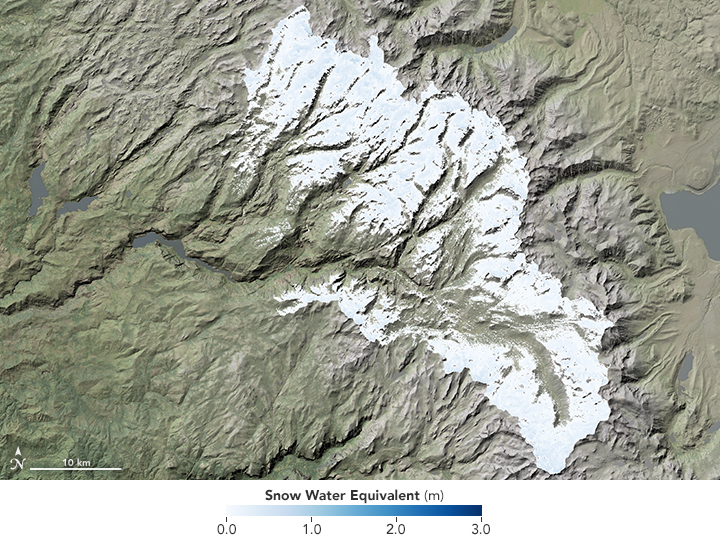 Sierra Snowpack Bigger Than Last Four Years Combined