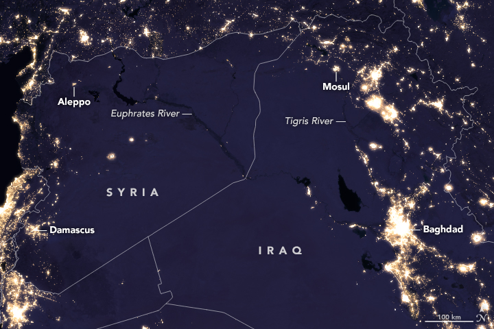 Night lights change in the middle east gumiabroncs Image collections