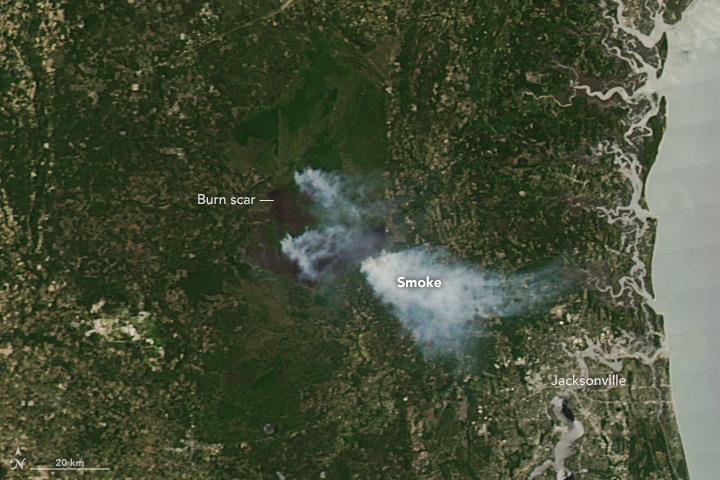 West Mims Fire Surpasses 100,000 Acres