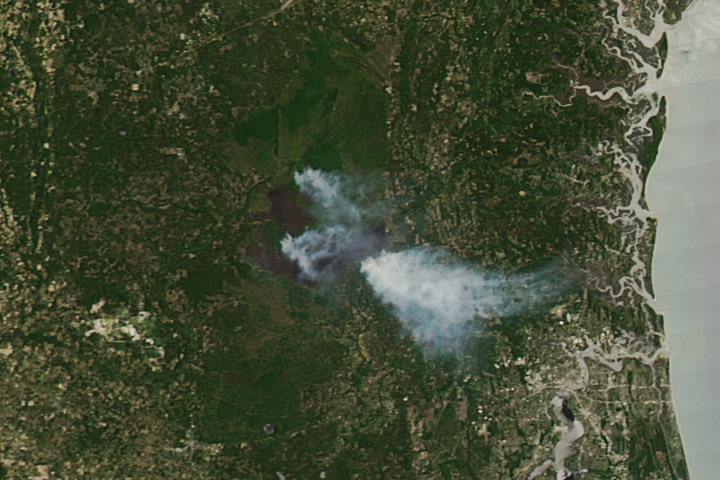 West Mims Fire Surpasses 100,000 Acres