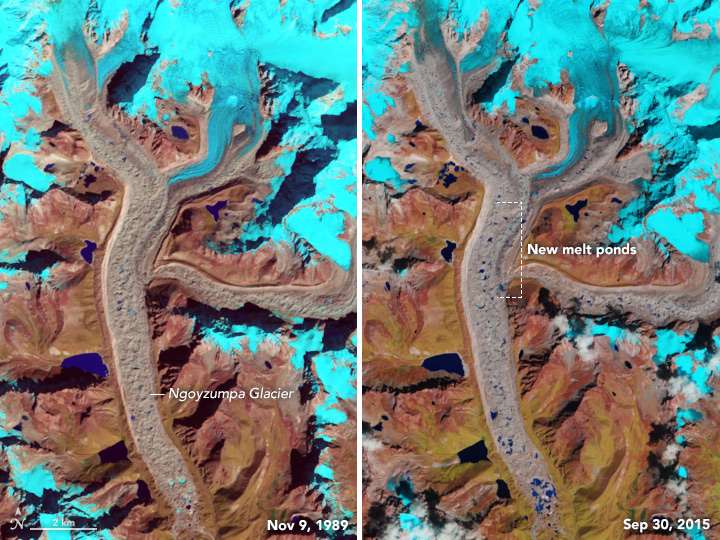 As Glacial Lakes Grow, So Do the Risks - related image preview