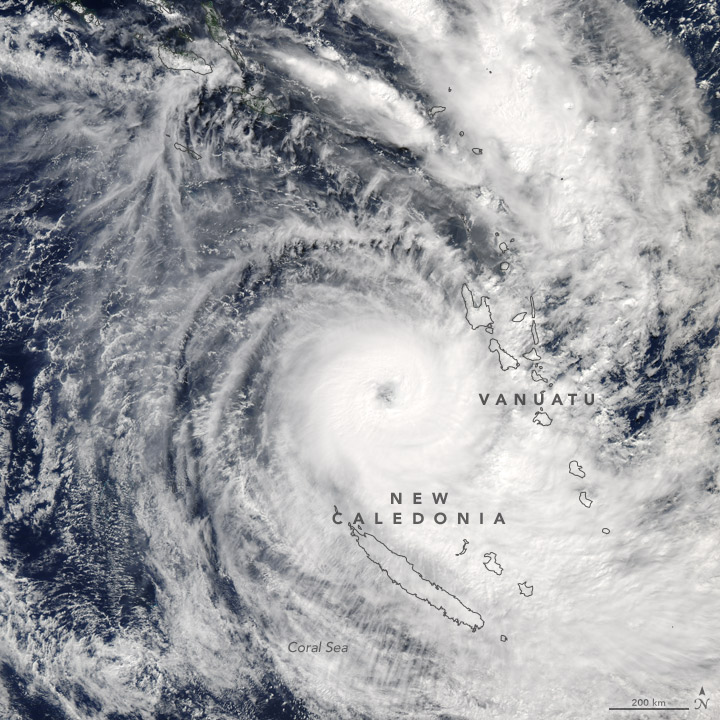 Tropical Cyclone Donna