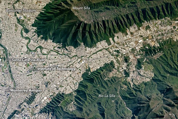 Mount Silla and Monterrey