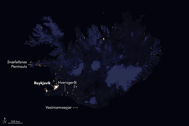 Iceland at Night