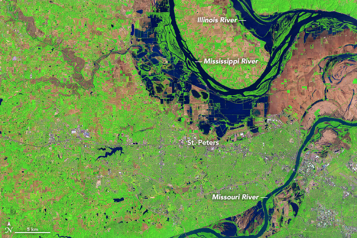 Flooding Near St. Peters, Missouri - related image preview
