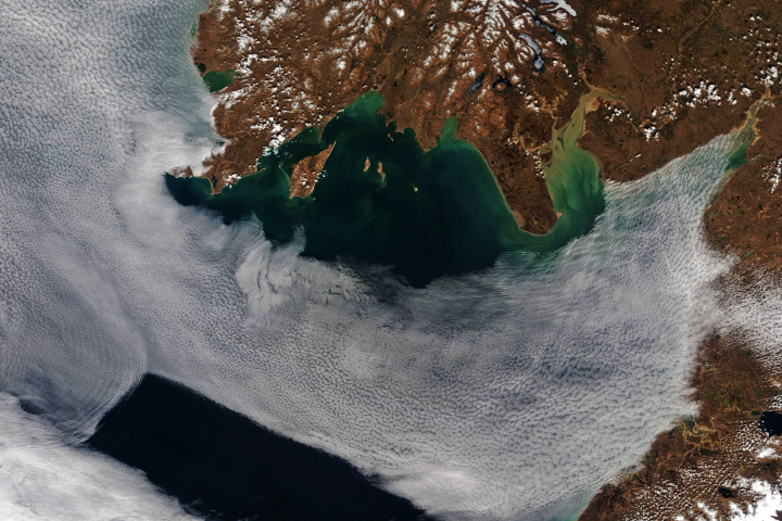Wave Clouds Over Bristol Bay