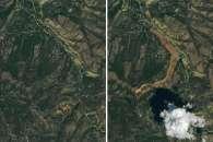 Landslide in Southern Kyrgyzstan