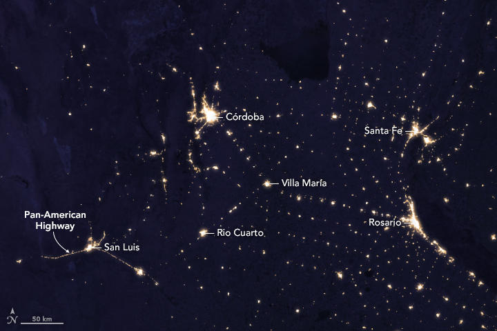 An Odd Symmetry: Argentina After Dark