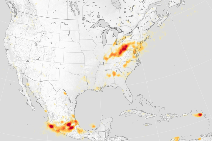 The Ups and Downs of Sulfur Dioxide in North America