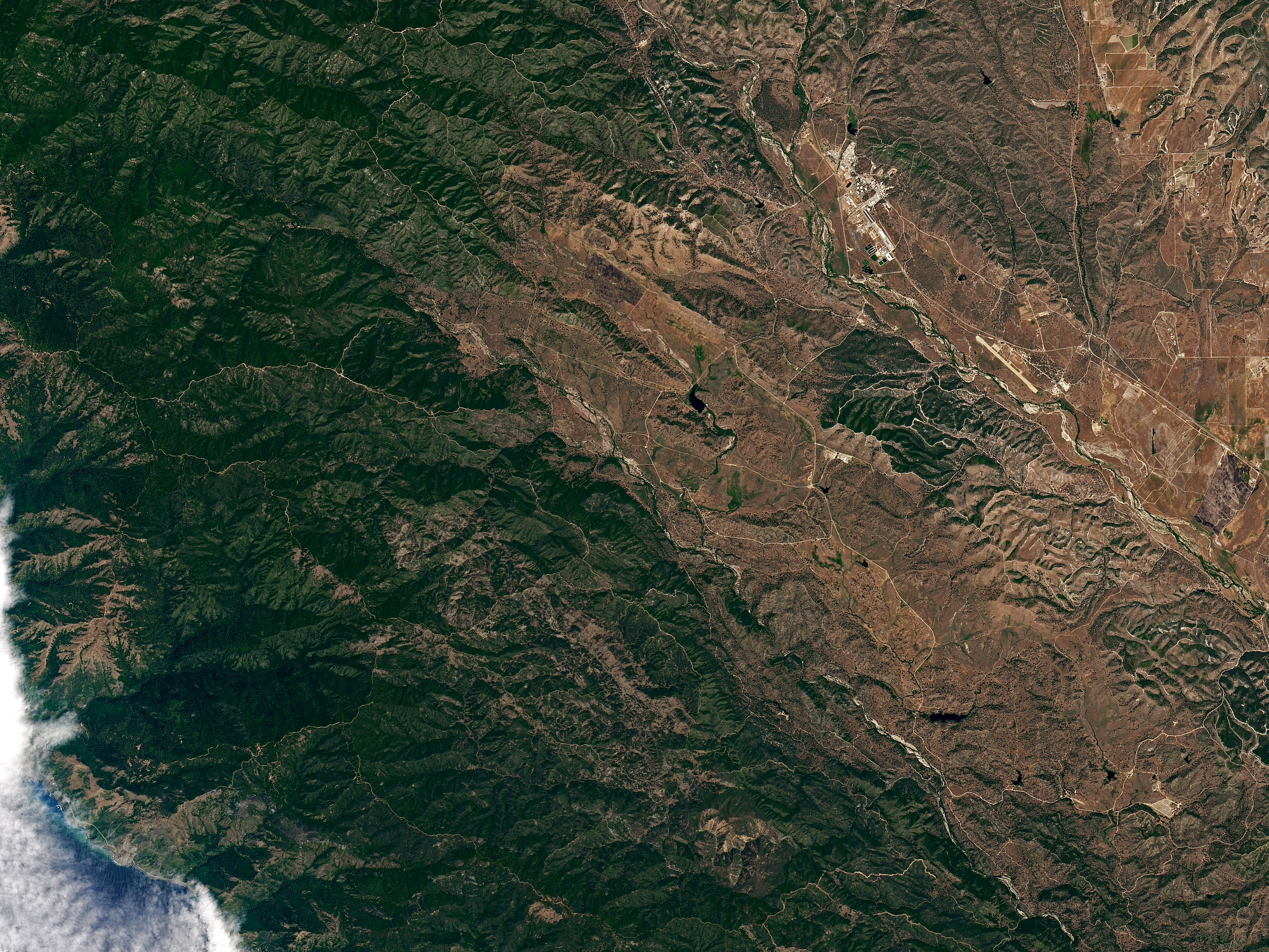 Landslide Buries Scenic California Highway - related image preview