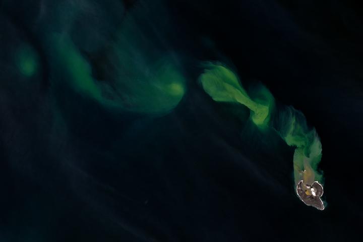 Bogoslof Begets Ash in the Bering Sea