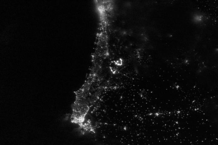 Wildfires Light Up Portugal  - selected image