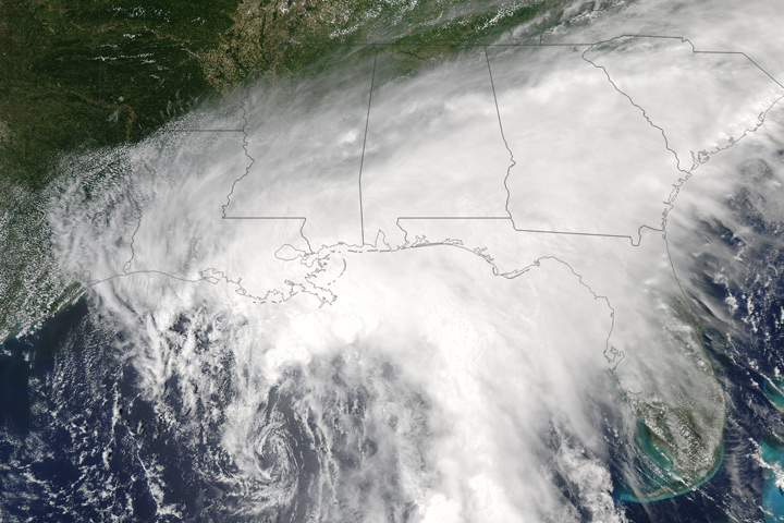 Tropical Storm Cindy Nears the Gulf Coast
