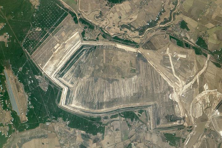 Coal Mines, Eastern Germany