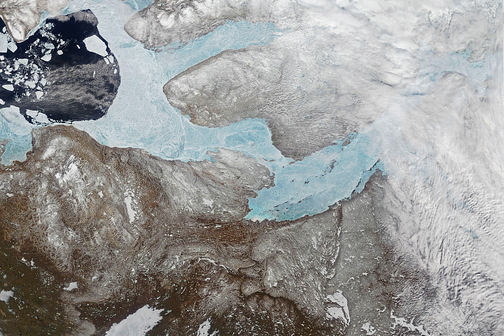 Lakes and Rivers Have Ice, Too