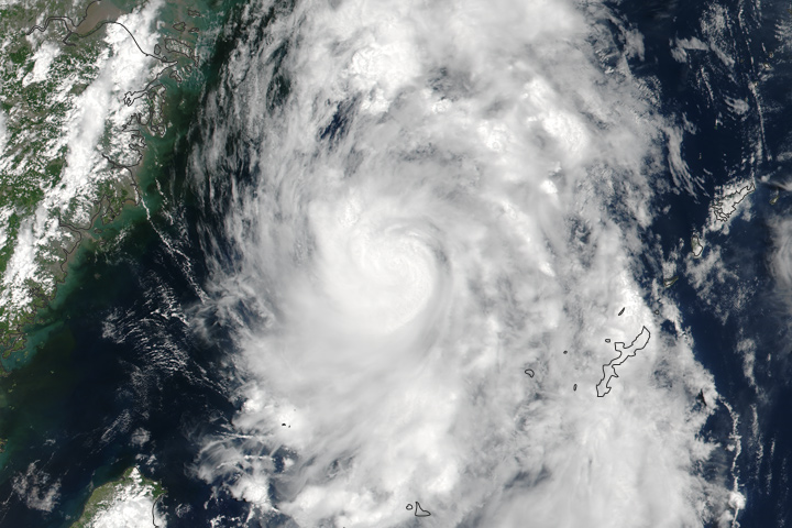 Tropical Storm Nanmadol - selected image