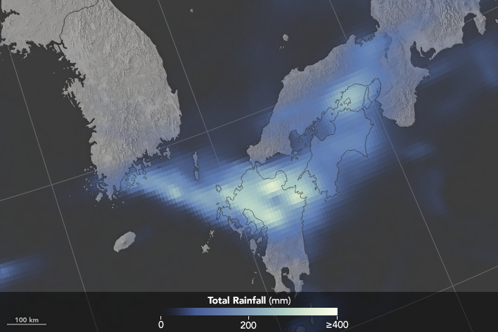 Intense Rain Leads to Flooding in Japan - related image preview
