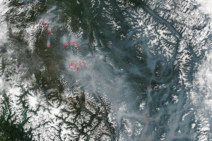 Wildfires in British Columbia