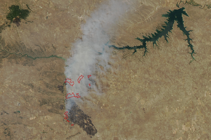 Grassland Fires Tear Through Montana