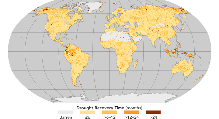 Drought Recovery Taking Longer
