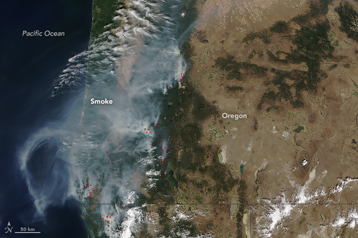 Wildfires and Smoke in Oregon