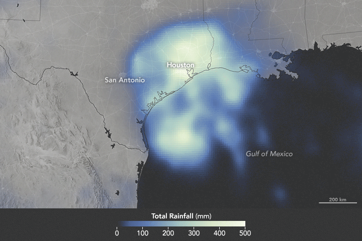 Harvey Drops Devastating Rain on Texas - related image preview