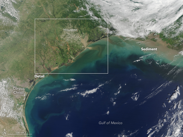 Texas Waters Run Brown after Harvey - related image preview