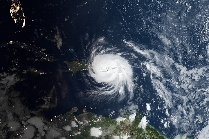 Hurricane Maria Lashes Puerto Rico - selected image