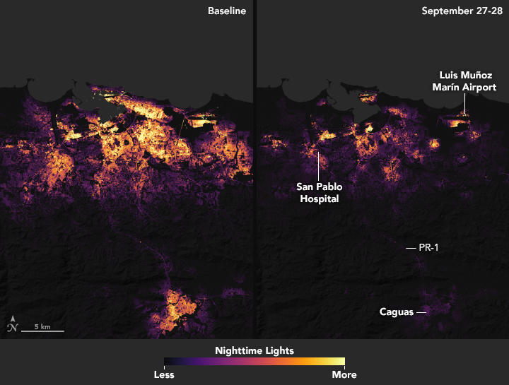 Pinpointing Where Lights Went Out in Puerto Rico - related image preview