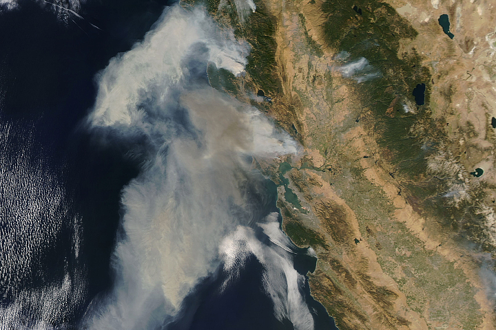Explosive Fires in Northern California - selected image