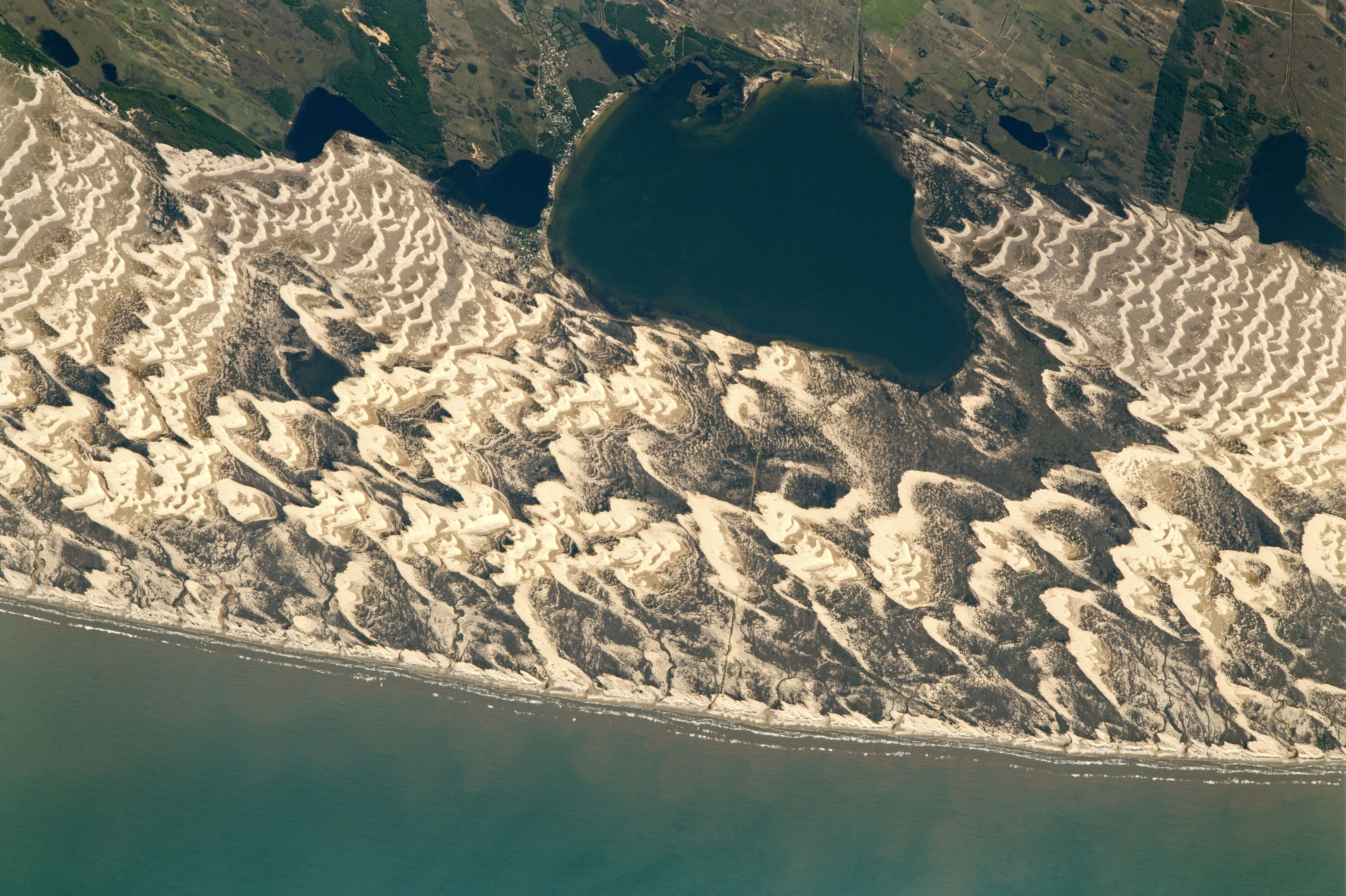 Barchan Dunes and Lagoons, Southern Brazil  - related image preview
