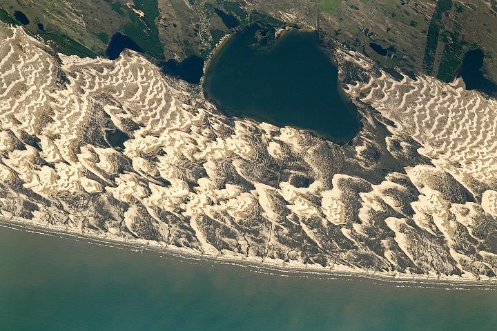 Barchan Dunes and Lagoons, Southern Brazil