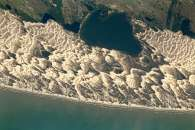 Barchan Dunes and Lagoons, Southern Brazil