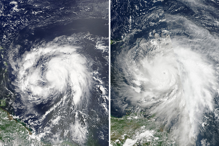 A Closer Look at Rapidly Intensifying Hurricanes