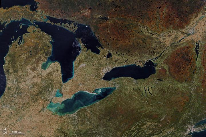 Autumn Colors in North America