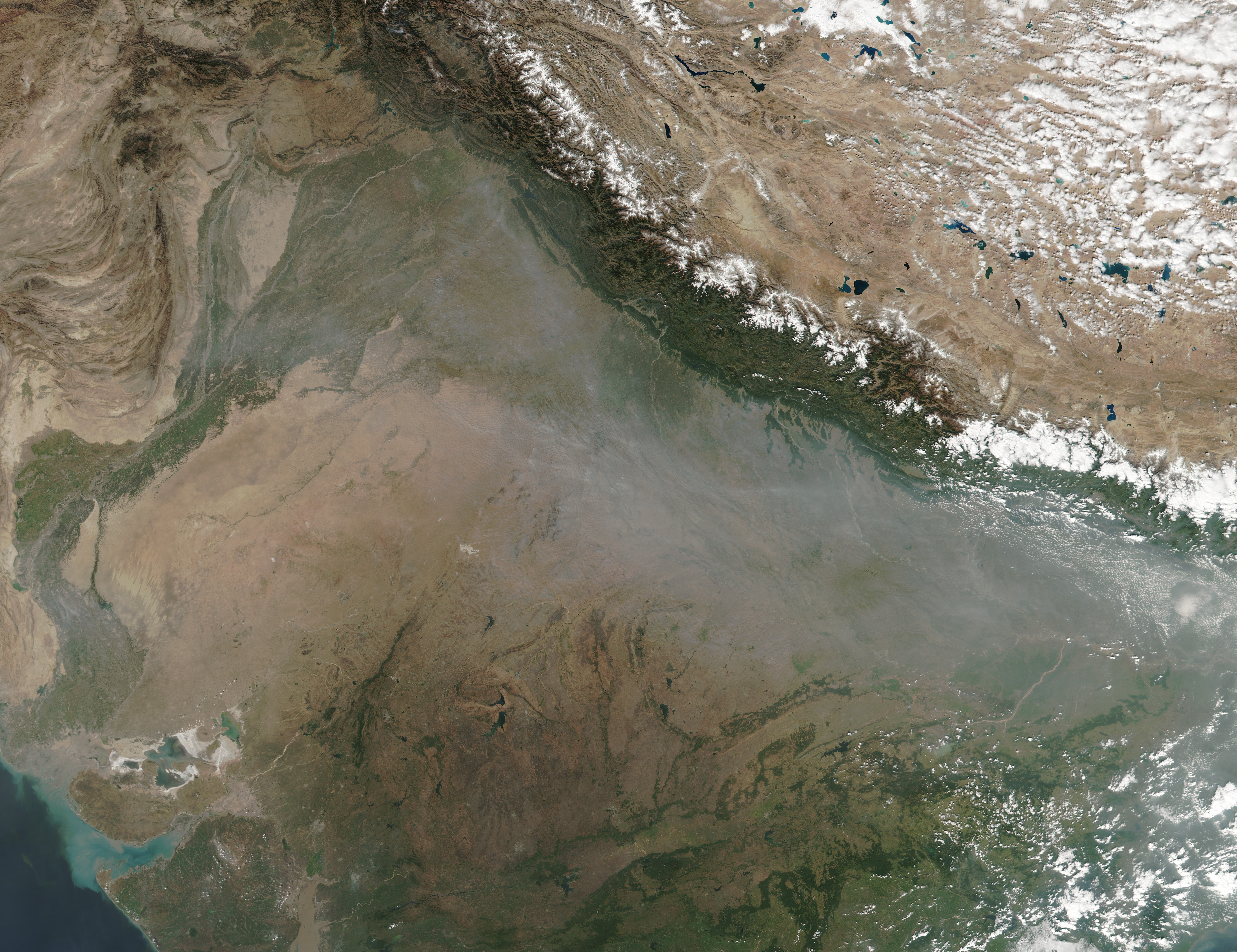 Crop Fires in Northern India - related image preview