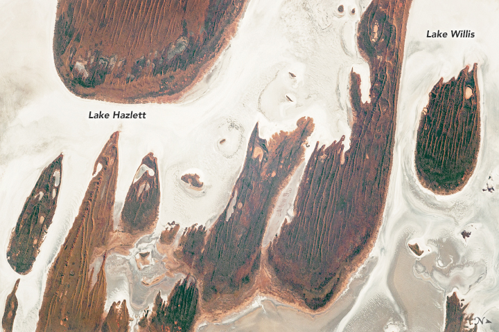 Lake Hazlett and Lake Willis  - related image preview