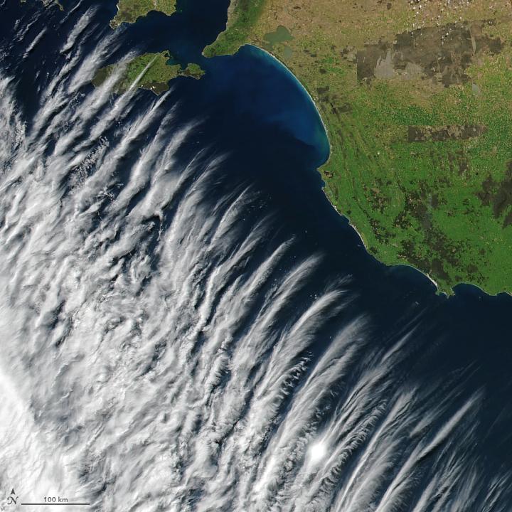 Clouds Near Australia