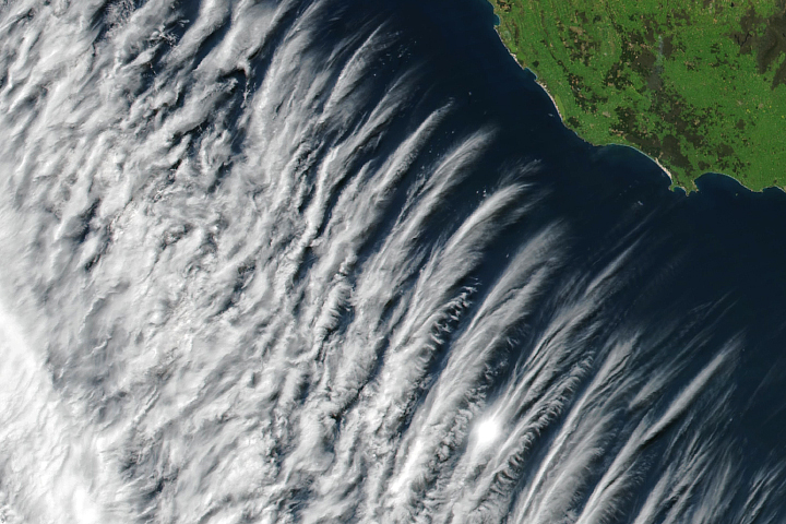 Clouds Near Australia