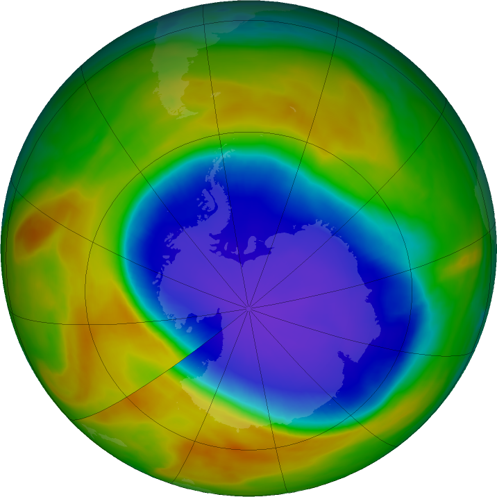 Ozone Hole is Smallest Since 1988 - related image preview