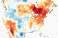 October Scorches Records in the Northeast