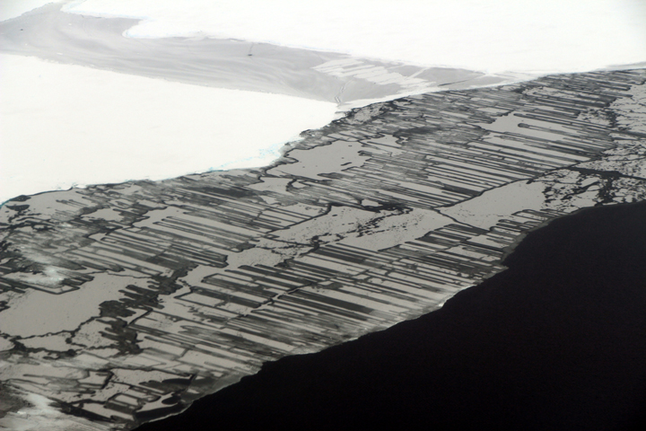 Icy Fingers in the Weddell Sea