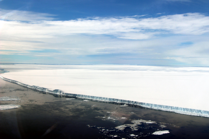 A Birdseye View of Iceberg A-68A