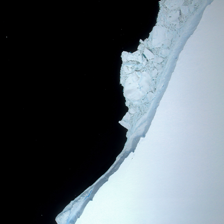 A Birdseye View of Iceberg A-68A - related image preview
